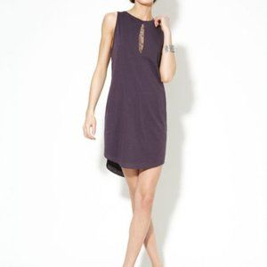 3.1 Phillip Lim Rhinestone Jersey Keyhole Dress S
